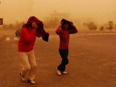 沙尘暴的危害 沙尘暴对环境和人体的有什么